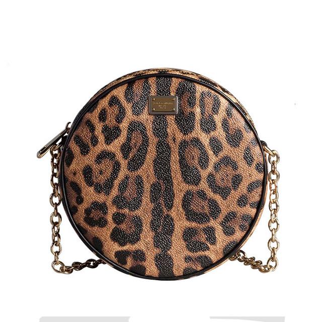glam leopard print bag Dolce & Gabbana