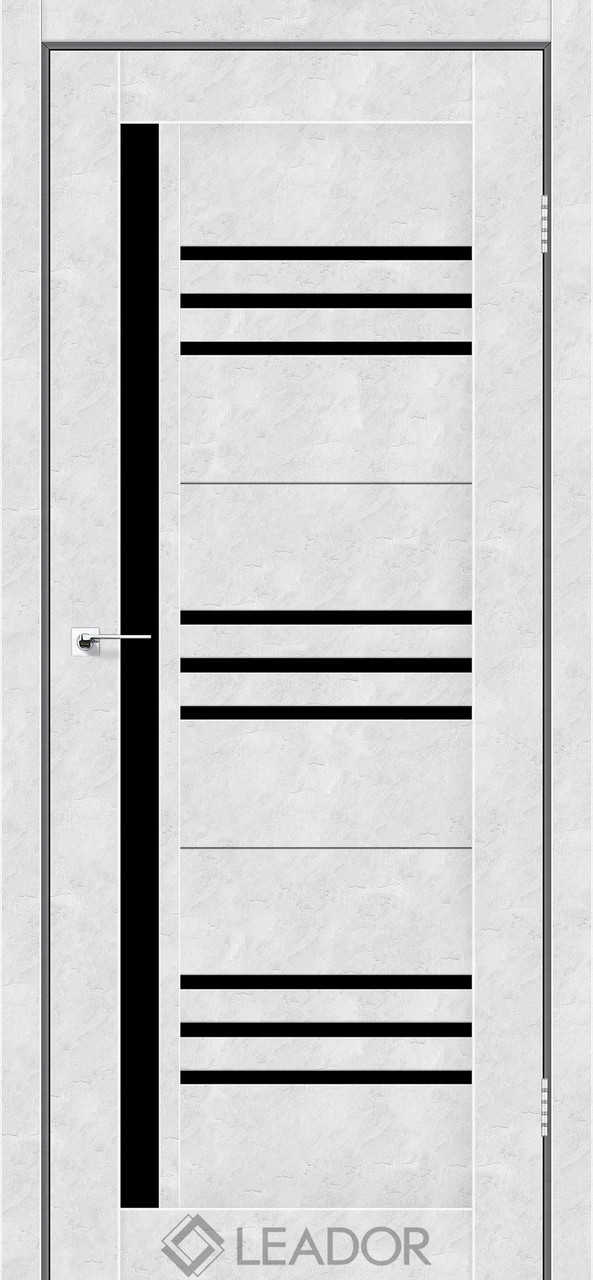 Двери Leador COMPANIA Белый бетон BLK