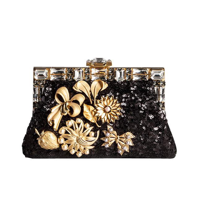 flower print bag Dolce & Gabbana