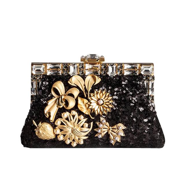 flower print bag Dolce & Gabbana