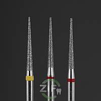 Алмазные боры пиковидные (конусные) ВЛАДМИВА для турбинного наконечника