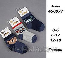 Махрові шкарпетки для новонароджених TM Arti оптом р. 0-6 міс.