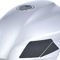 Боковая защитная наклейка на бак Oxford Transformer - Modular Knee Pads черный, комплект