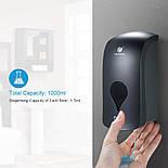 Кухонный настенный дозатор диспенсер для жидкого мыла 1000 мл, фото 6