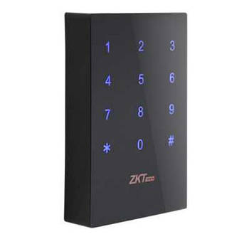 Считыватель карт доступа с сенсорной клавиатурой ZKTeco KR702MF