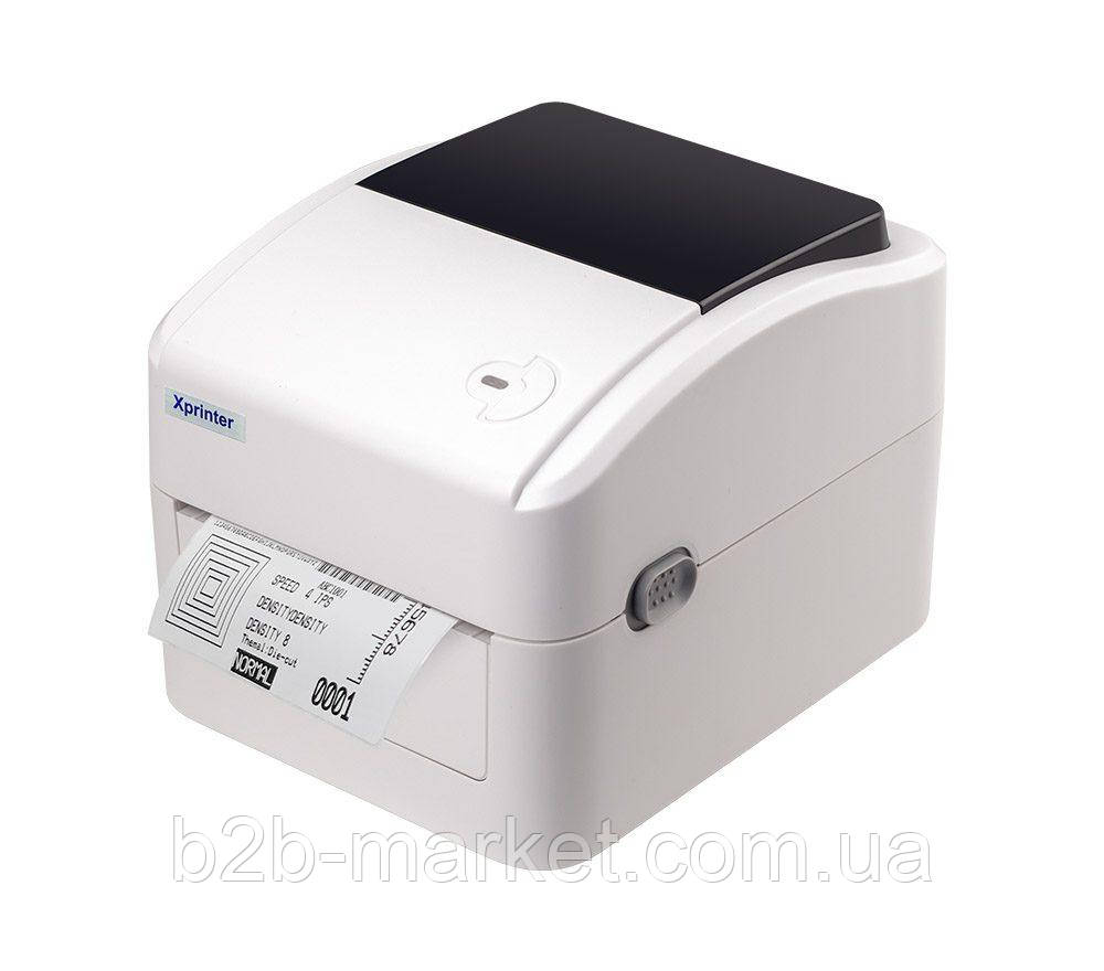 Принтер етикеток підходить для Нової пошти Xprinter XP-420B USB+LAN