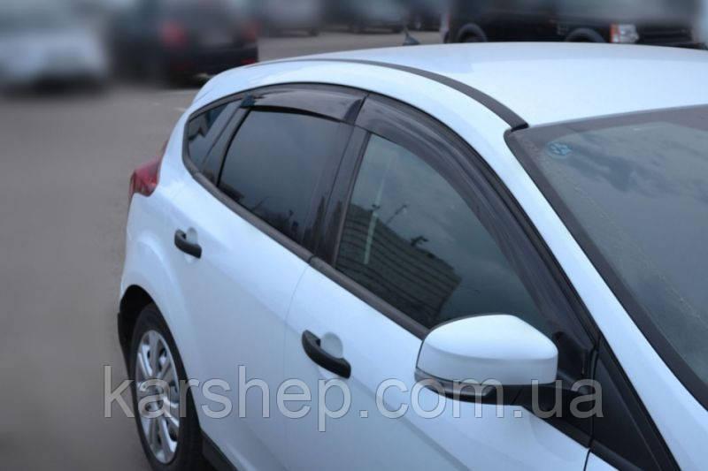 Ветровики на Форд Focus III Sd/Hb 5d 2011
