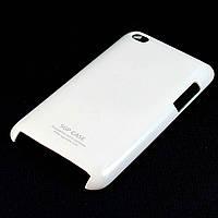 Чехол-накладка для Apple iPod Touch 4, SGP Case, пластиковый, Белый /case/кейс /айпод