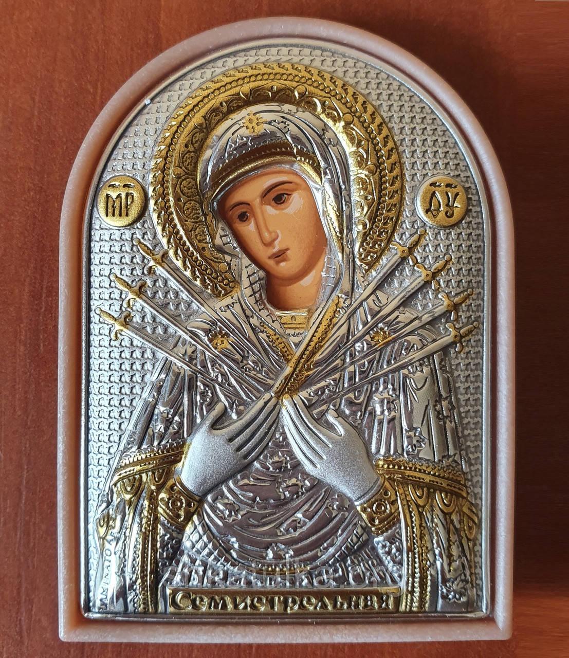 Ікона Божа Матір Семистрільна