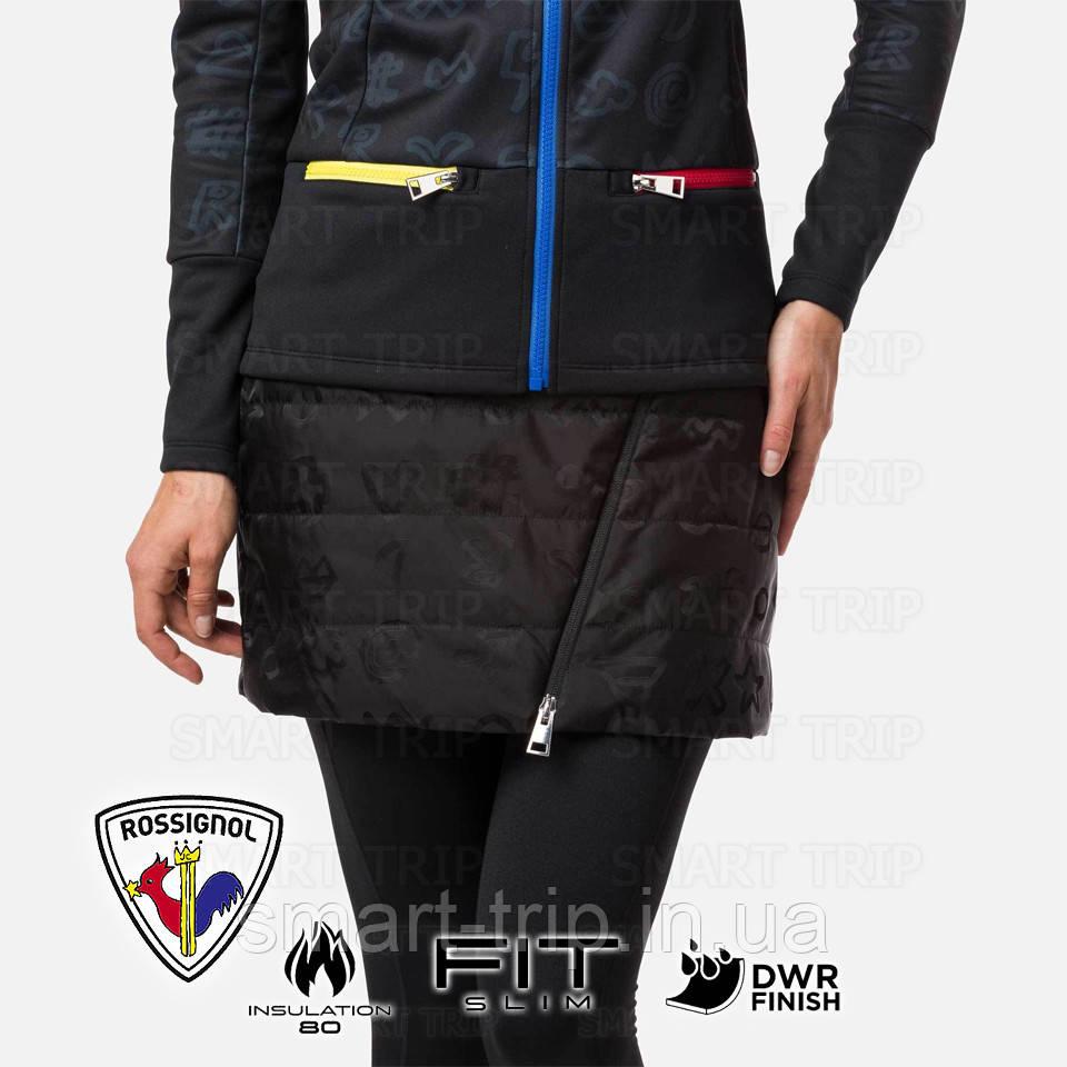 Зимняя юбка JCC x Rossignol  W YOUPI SKIRT M 2021 черная (RLJWZ03-200-M)