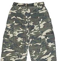 Камуфляжные брюки на флисе для мальчика