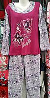 Байковая женская пижама №601