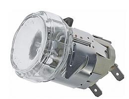 Лампа комплект (G9 / 230В / 25Вт) термостойкая для печи до 500°C