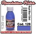 JVR Revolution Kolor, opaque royal blue #128, 50ml, фото 2