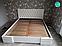 Кровать Камелия Ромб двухспальная без механизма  ТМ Arbor Drev, фото 2