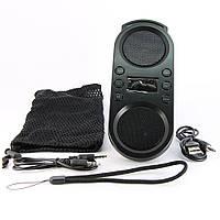Музыкальная колонка A609B, Чёрная /портативная маленькая переносная колонка, акустика для телефона + юсб