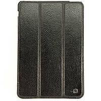 Чехол-книжка для iPad Mini, iPad Mini 2, iPad Mini 3, HOCO, фактурная кожа, Черный /flip case/флип кейс /айпад, фото 1