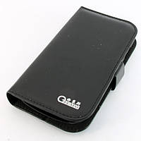Чехол-книжка для Samsung Galaxy S2, i9100, кожаный, боковой, Gelaisi, Черный /flip case/флип кейс /самсунг галакси