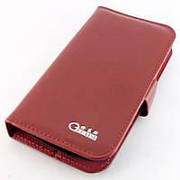 Чехол-книжка для Samsung Galaxy S Duos S7562, кожаный, боковой, Gelaisi, Бордовый /flip case/флип кейс