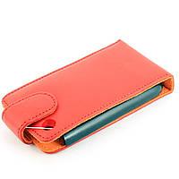 Чехол-книжка для Apple iPhone 3G, iPhone 3GS, Geniune Leather, Chic Case, Красный /flip case/флип кейс /айфон