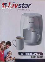 Кофеварка Livstar LSU-1190,товары для кухни,тостеры,чайники,кофеварки,миксеры