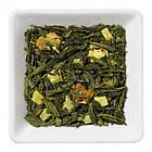Зелений чай з ананасом і куркумою Золота Галактика Space Coffee 100 грам, фото 2