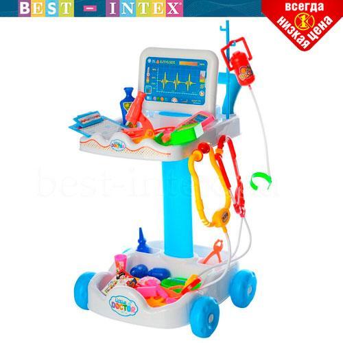 Игровой набор Доктора Limo Toy 606-1-5 Голубой