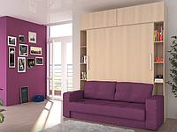 Откидная кровать с диваном в гостинную, фото 1