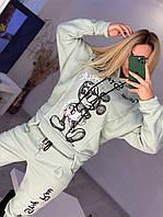 Женский спортивный костюм на флисе Микки, фото 1