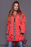 Стильна дуже тепла куртка з капюшоном в кольорах, фото 8