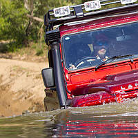 Шноркель Safari Land Rover Defender (Safari, ss560hf)