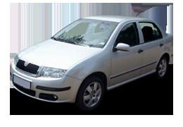 Спойлера для Skoda (Шкода) Fabia MK1 1999-2007