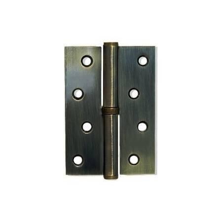Петлі дверні Apecs 100*75-B-Steel-AB-R