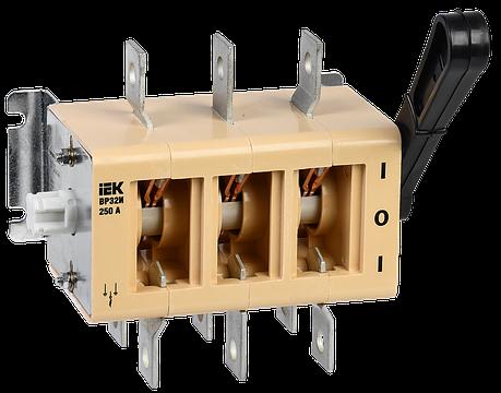 Выключатель-разъединитель ВР32И-35А70220 250А на 2 направления без дугогасительной камеры IEK, фото 2
