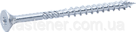 Саморіз промисловий С1 по дереву 6,0х80, потай, оцинк., TX30, упак.-200 шт, Швеція