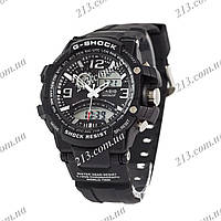 Спортивные часы Casio G-Shock Twin Sensor Black