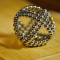 Магнитный конструктор неокуб Магнитные шарики нео куб Серебряный Neocube 5мм Головоломки для детей и взрослых