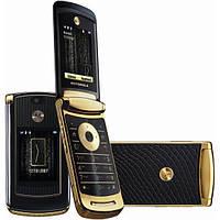 Оригинальный мобильный телефон Motorola RAZR2 V8 Gold