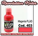 JVR Revolution Kolor, magenta FLUO #403,60ml, фото 2
