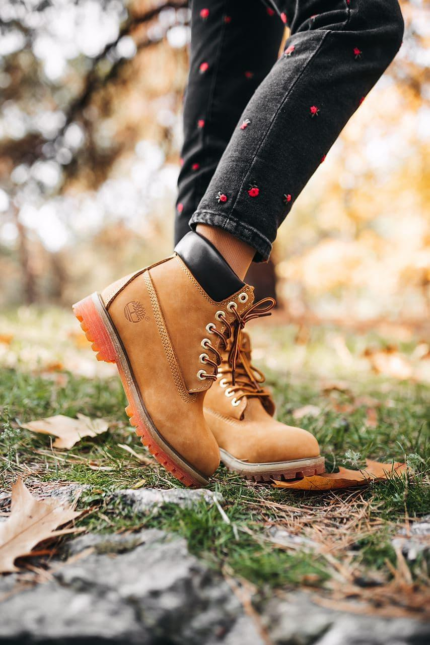Женские зимние ботинки Timberland Ginger (мех)