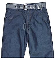 Джинсы для мальчика на флисе,синего цвета, фото 1