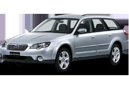 Коврики в салон для Subaru (Субару) Outback 3 (BP) 2003-2009