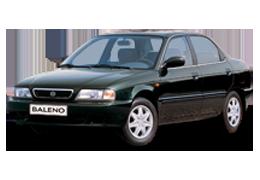 Спойлера для Suzuki (Сузуки) Baleno 1 1995-2002