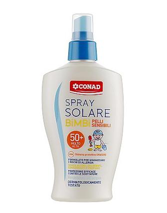 Conad Latte Solare P50 Baby - Крем защитный для детской и очень светлой кожи UVA/UVB SPF50, 200 мл