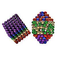 Магнитный конструктор неокуб Магнитные шарики нео куб Цветной Neocube 5мм Головоломки для детей и взрослых