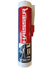 Герметик силиконовый, универсальный 280мл (прозрачный), HAISSER