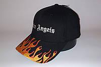 Бейсболка мужская PALM ANGELS 20-3112 чёрная, фото 1
