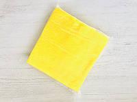 Салфетки одноразовые косметические сетка, 20х20 (100 шт) Желтый