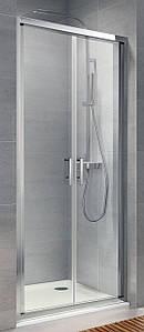 Душові двері Koller Pool NEON ND90C розпашні 900x1900 мм скло прозоре