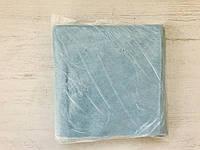 Салфетки одноразовые косметические сетка, 20х20 (100 шт) Синий